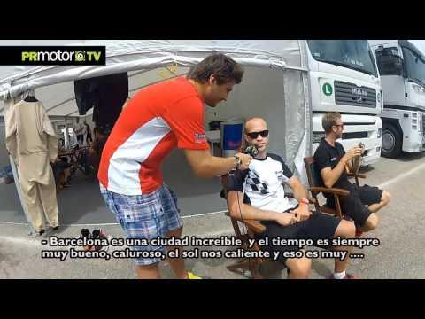 Porsche SuperCup 2012 - Isaac Tutumlu entrevista a Rene Rast y Robert Lukas - PRMotor TV Channel