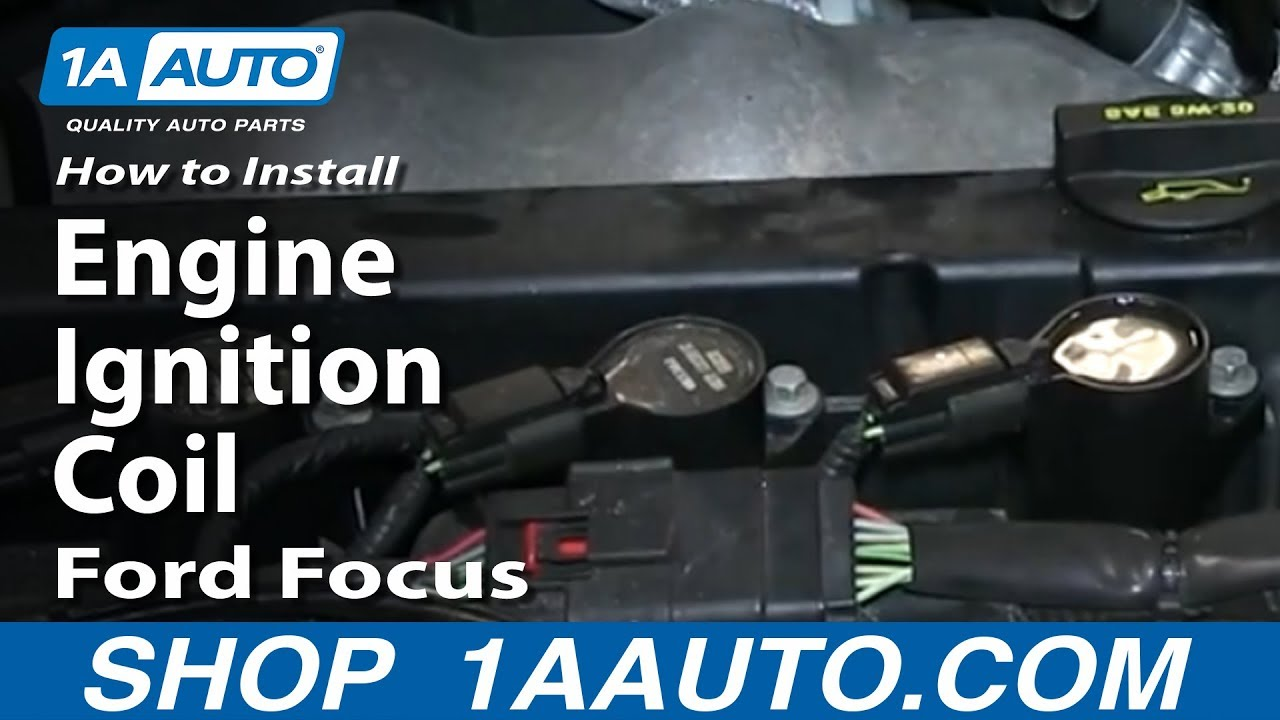 maxresdefault how to install replace engine ignition coil 2003 11 ford focus  at webbmarketing.co