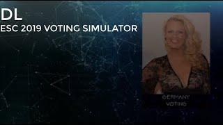 EUROVISION 2019 - MY VOTING SIMULATOR