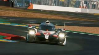 2019 Le Mans 24 Hours Wednesday - FP1 Track Action
