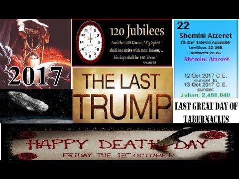AMAZING CONJUNCTIONS FOR THE LAST GREAT DAY OF TABERNACLES!!! OCTOBER 12-13, 2017