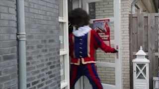 Zwarte Piet bezoekt Kapsalon Haarbalans Nijmegen Noord Sinterklaas 2012