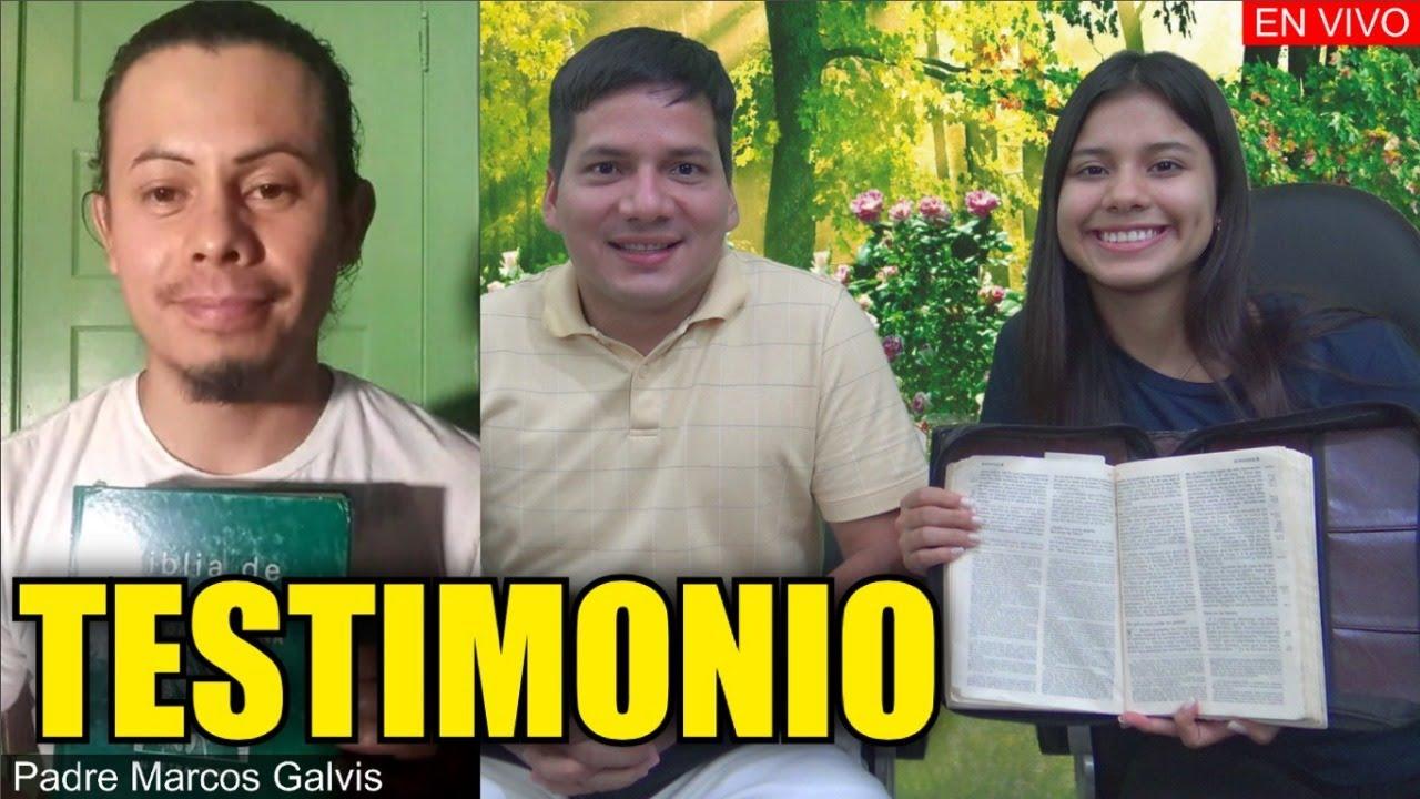 Conversión de Católico Gracias al Padre Luis Toro con el Padre Marcos Galvis  EN VIVO