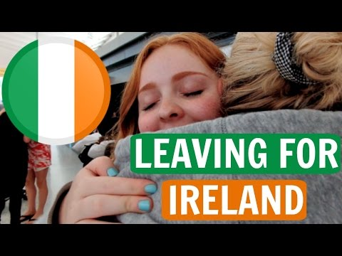 LEAVING FOR IRELAND!  | Study Abroad Travel Vlog | Sarah Hasselberger