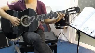 Dạy Học Guitar] [Đệm Hát] [Điệu Rumba  Bolero]   Đêm lao xao   Tường Văn