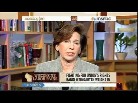 American Federation of Teachers President Randi Weingarten on MSNBC's Morning Joe