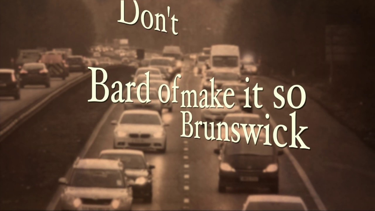 Don't Make It So.(Lyric video) by Bard of Brunswick