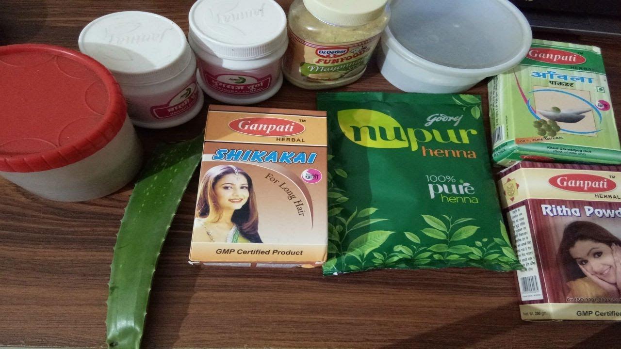 Nupur 9 Herbs Henna White Hair Treatment In Hindi Ayurvedic