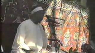 الشيخ عنتر مسلم فيديو نادر من قرية نواج فى فترة التسعينات لما تيسر من سورة ال عمران