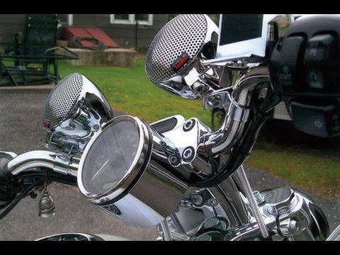 harley davidson motorcycle best sound system - youtube
