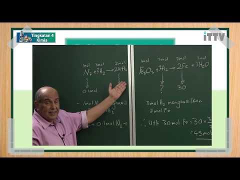 ITTV SPM Tingkatan 4 Kimia Bab 3 Formula Dan Persamaan Kimia (Perkiraan Stoikiometri Molekul)