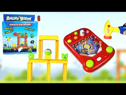 Angry Bird Game & Pinball Game for Kids| Unbox & Play