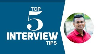 Top 5 Job Interview Tips