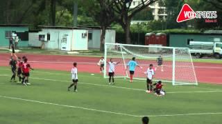 National Inter-School Football Semi Finals: Seng Kang Secondary vs Siglap Secondary
