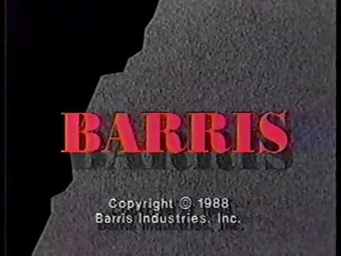 Barris Program Sales / Barris [Productions] logos (1989)
