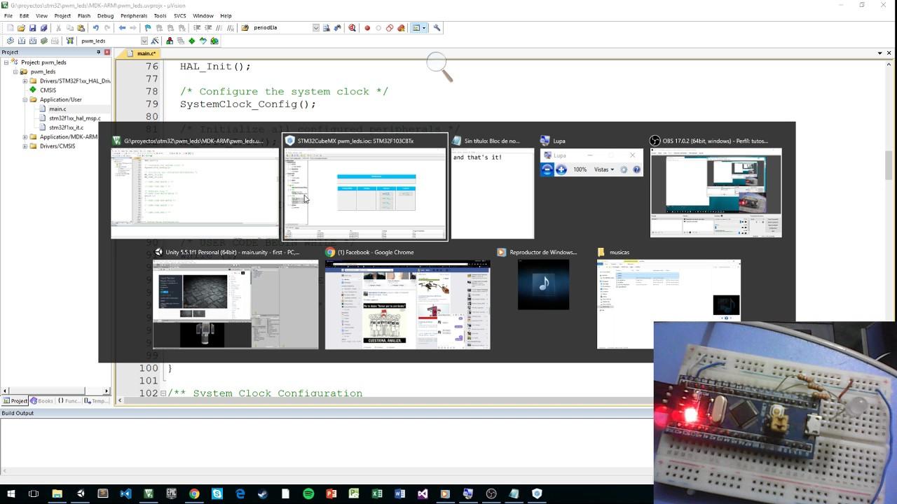 stm32 cubeMX keil PWM tutorial