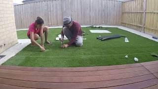 Artificial Grass step by step Installation- Quick DIY