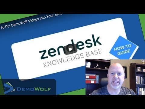 FREE Video Tutorials In Your ZenDesk Knowledgebase