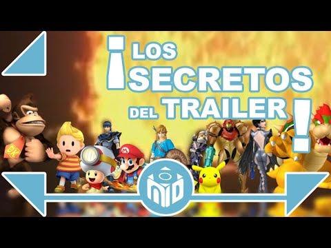 TODO SOBRE Super Smash Bros Nintendo Switch -  PERSONAJES OCULTOS en el trailer | N Deluxe