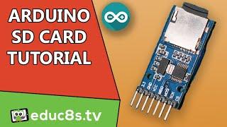 Arduino Tutorial SD card module Micro SD tutorial DIY