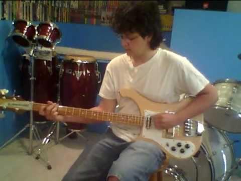 Wings Silly Love Songs Rickenbacker 4001 Bass