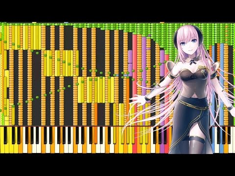 [Black MIDI] Synthesia – Last Of Me (Megurine Luka) 121,000 ~ ScubDomino