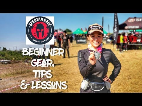 SPARTAN RACE BEGINNER GEAR, TIPS, LESSONS | Valerie Tan