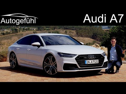 Audi A7 Sportback FULL REVIEW all-new 2018/2019 neu - Autogefühl