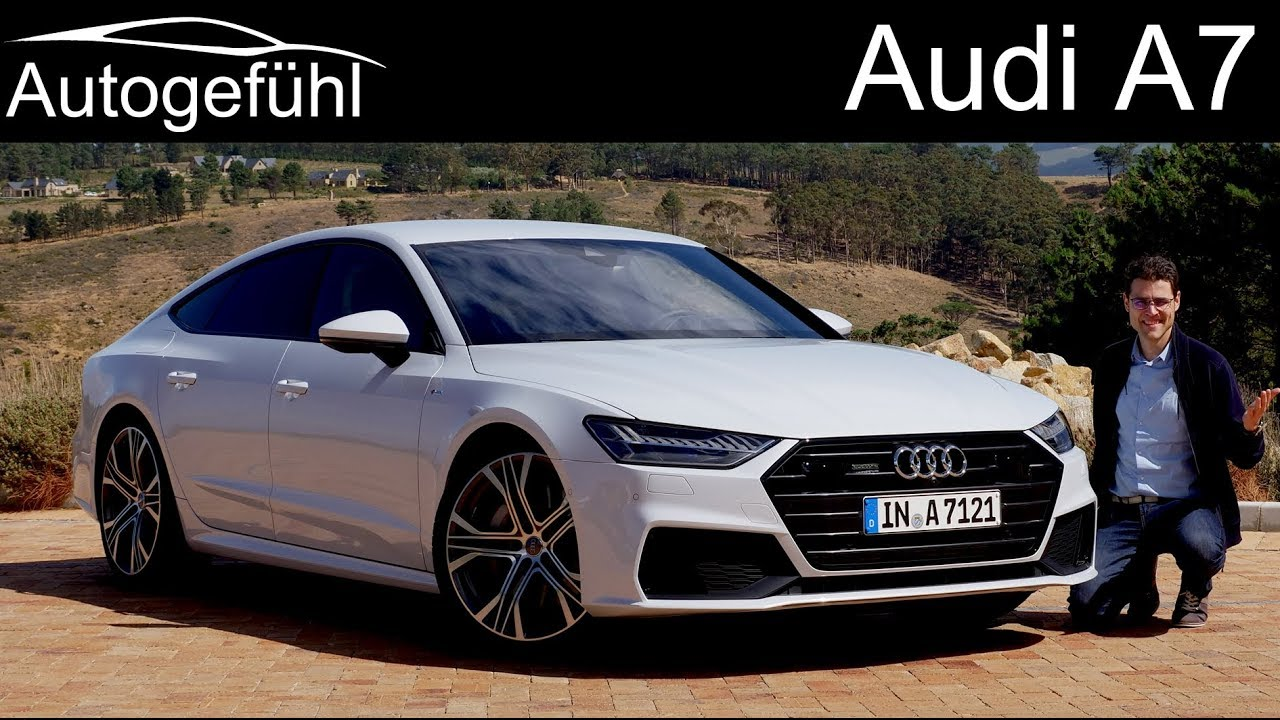 audi a7 sportback full review all new 2018 2019 neu. Black Bedroom Furniture Sets. Home Design Ideas
