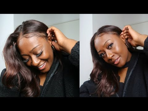 how I customize my lace front wigs (dye it red, bleach knots, hot comb etc.)