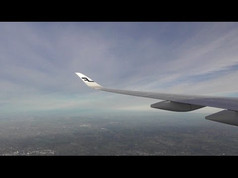 Finnair Airbus A350-941 / Helsinki to London Heathrow *FULL FLIGHT*