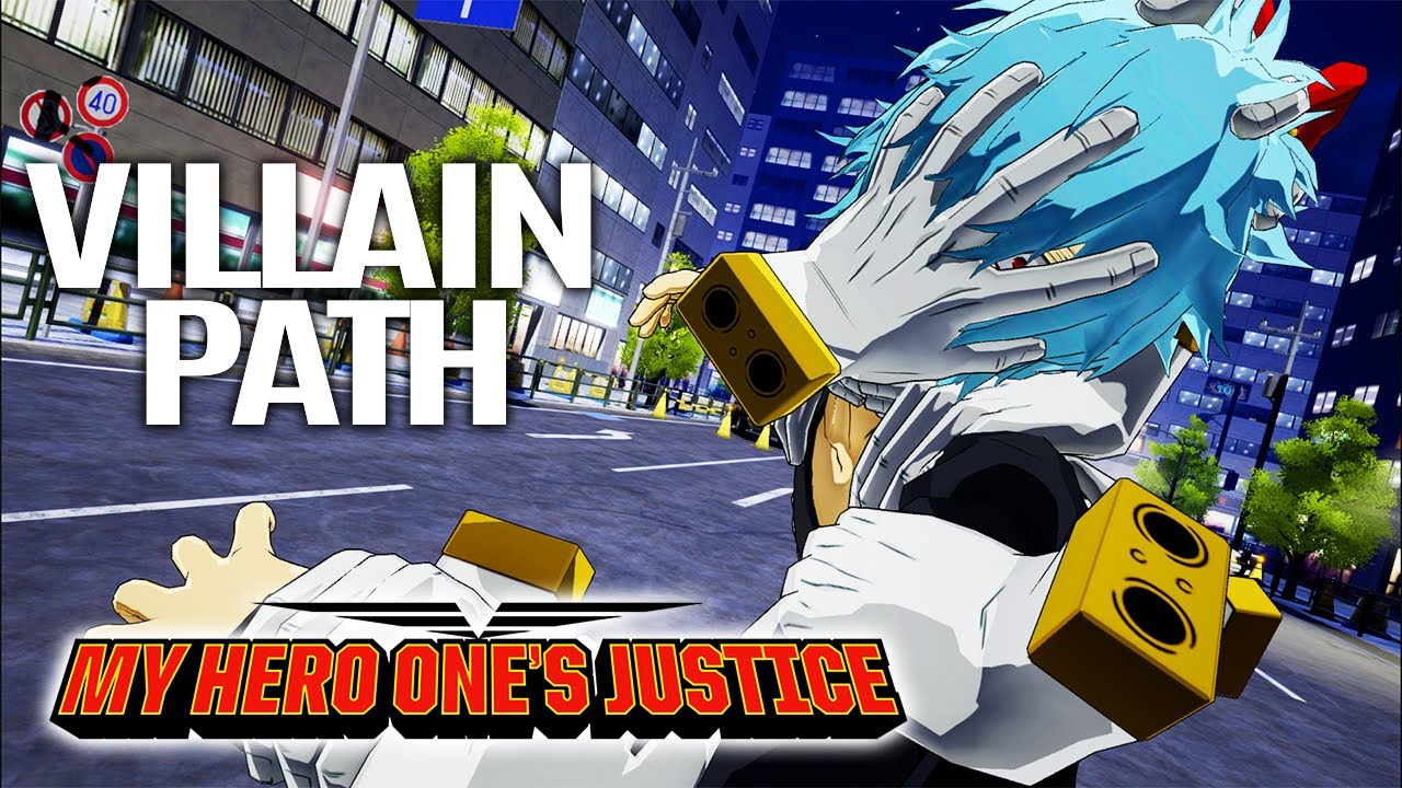 MY HERO ONE'S JUSTICE All Cutscenes (VILLAIN PATH) Game Movie 1080p HD
