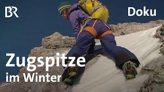 Jubiläumsgrat und Gatterl: Zugspitze im Winter   Bergauf-Bergab   10.04.2016