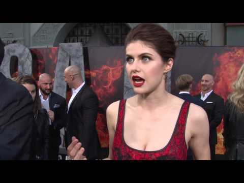 San Andreas: Alexandra Daddario Exclusive Premiere Interview