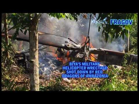 AMBAZONIA RED DRAGONS SHOT DOWN BIYA'S HELICOPTER