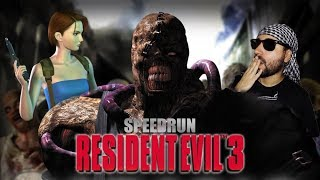 Resident Evil 3: Nuevo PB 44:26 (Speedrun Any%) - gameplay Español