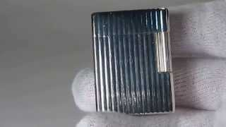 S. T. Dupont Line/Ligne 1 Ping Sound 1960 and Presentatinon lighter