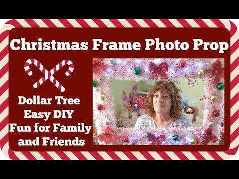 Dollar Tree DIY 🎄 Christmas Frame Photo Prop 🎄