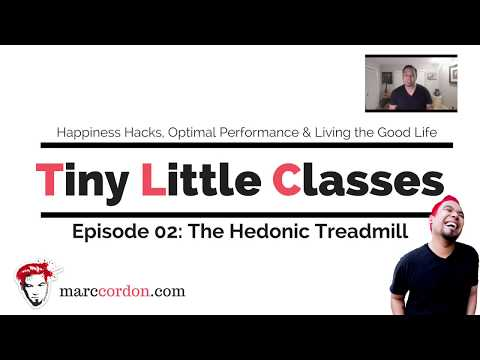 Tiny Little Classes Episode 02: The Hedonic Treadmill