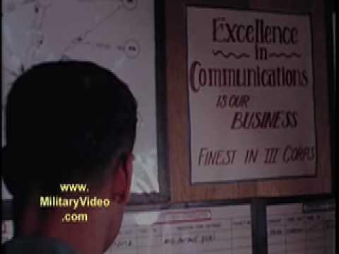 Army Signalmen In The Vietnam War