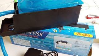 Hướng dẫn cách lắp đặt máy lọc nước nuôi cá / vipsun fish vs - 680