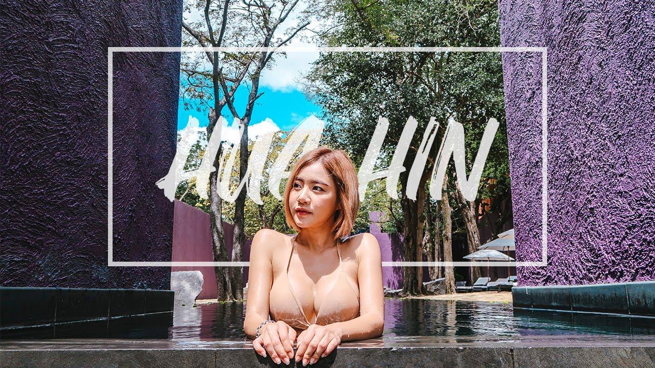 MINI Travelog | HUA HIN | เที่ยวหัวหิน ฟินไปกับฟ้า | Trip out of BKK! Most Amazing Spa! | ENG SUB
