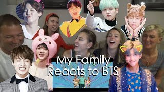 My Family Reacts to IDOL by BTS