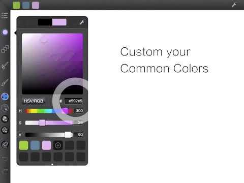 Digital illustration on Infinite Canvas with customized PaintBrushes on IPad, Mac