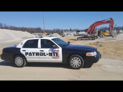 PATROL-911 Construction Site Security Solution 👮🚔