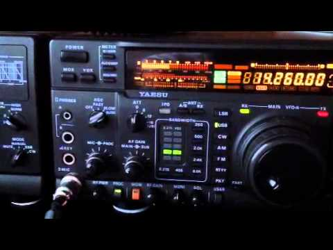 VU2RCT 🇮🇳 pile up Mangalore India 20m Yaesu FT-1000MP