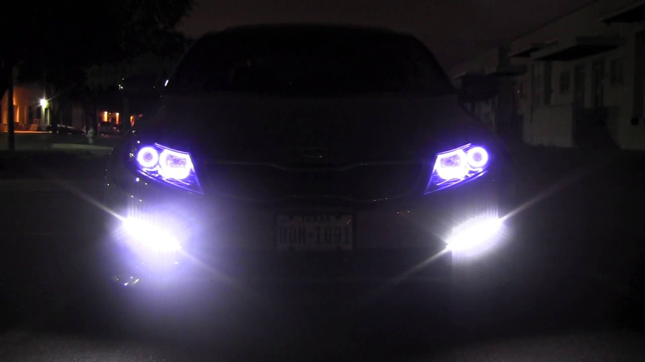 Kia Optima Halo Angel Eyes Switchback Youtube