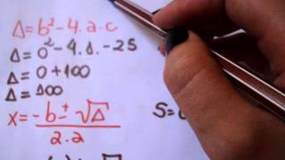 Formula de Bhaskara: Aplicações, exemplos