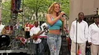 Mariah Carey - Bringin' On The Heartbreak (Live @ Today Show)