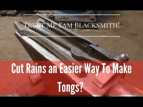 An Easier Way To Make Tongs If Your A Beginner! Cutting Your Reins!